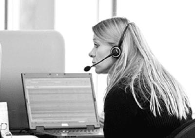 kontor kvinde support